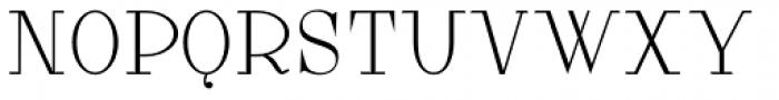 Lanzelott Thin Font UPPERCASE