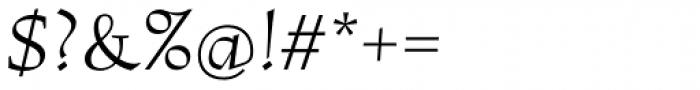Lapis Pro Italic Font OTHER CHARS