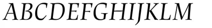 Lapture Display Italic Font UPPERCASE