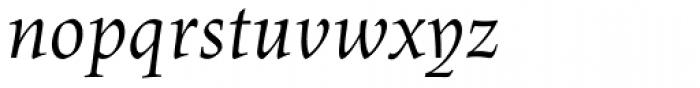 Lapture Display Italic Font LOWERCASE