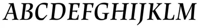 Lapture Display SemiBold Italic Font UPPERCASE