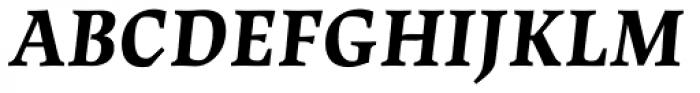 Lapture Subhead Bold Italic Font UPPERCASE