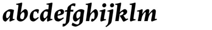 Lapture Subhead Bold Italic Font LOWERCASE