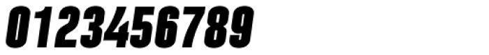 Laqonic 4F Unicase Black Italic Font OTHER CHARS