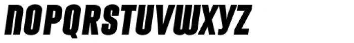 Laqonic 4F Unicase Black Italic Font LOWERCASE