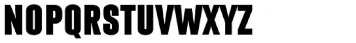 Laqonic 4F Unicase Black Font UPPERCASE