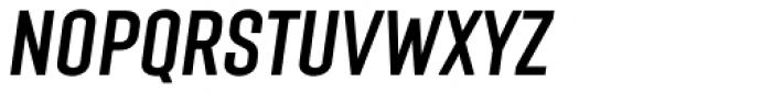 Laqonic 4F Unicase Italic Font UPPERCASE