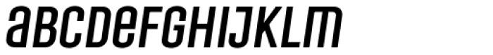 Laqonic 4F Unicase Italic Font LOWERCASE