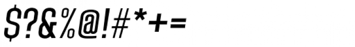 Laqonic 4F Unicase Light Italic Font OTHER CHARS