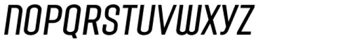 Laqonic 4F Unicase Light Italic Font LOWERCASE