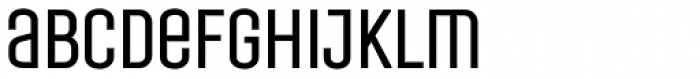 Laqonic 4F Unicase Light Font LOWERCASE