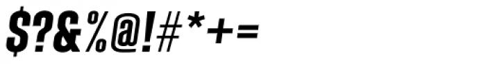 Laqonic 4F Unicase Semi Bold Italic Font OTHER CHARS