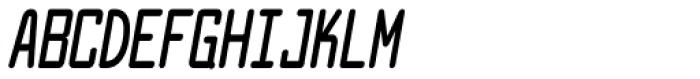 Larabiefont Compressed Bold Italic Font UPPERCASE