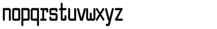 Larabiefont Compressed Bold Font LOWERCASE