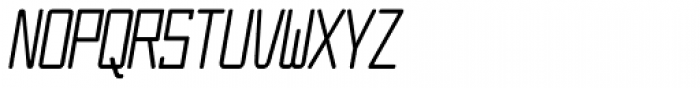 Larabiefont Compressed Italic Font UPPERCASE