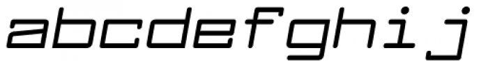 Larabiefont Extended Bold Italic Font LOWERCASE