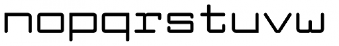 Larabiefont Extended Bold Font LOWERCASE