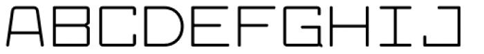 Larabiefont Extended Font UPPERCASE