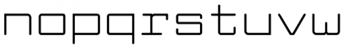Larabiefont Extended Font LOWERCASE