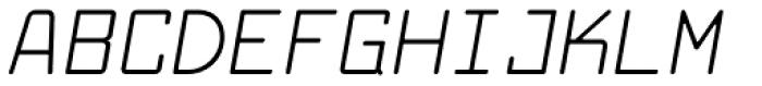 Larabiefont Italic Font UPPERCASE