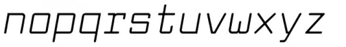 Larabiefont Italic Font LOWERCASE
