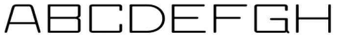 Larabiefont Xtrawide Font UPPERCASE