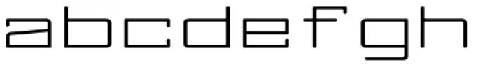 Larabiefont Xtrawide Font LOWERCASE