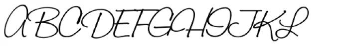 Laramie Pro Regular Font UPPERCASE
