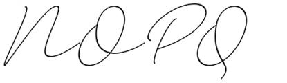 Larianti Italic Font UPPERCASE