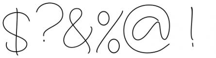 Larianti Regular Font OTHER CHARS