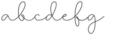 Larianti Regular Font LOWERCASE