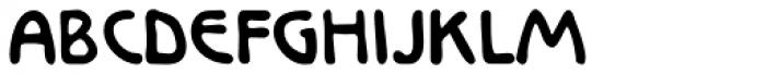 Larisch Font UPPERCASE