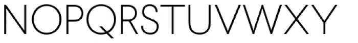 Larsseit Thin Font UPPERCASE