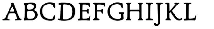 Lascaris Font UPPERCASE