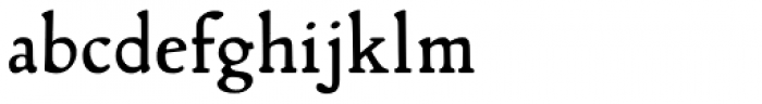 Lascaris Font LOWERCASE
