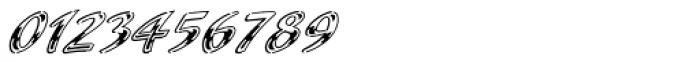 Laser Std Chrome Font OTHER CHARS