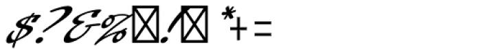 Laser Std Font OTHER CHARS