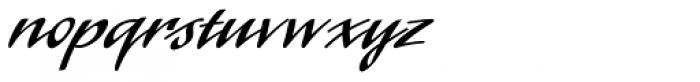 Laser Std Font LOWERCASE