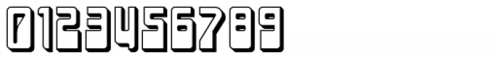 LaserDisco Extruded Font OTHER CHARS