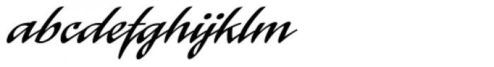 Laser Font LOWERCASE