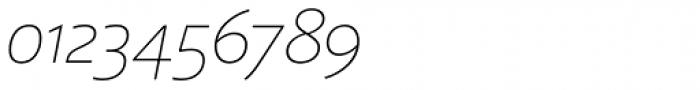Laski Sans Extra Light Italic Font OTHER CHARS