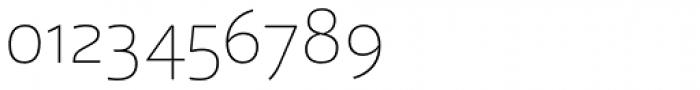 Laski Sans Extra Light Font OTHER CHARS