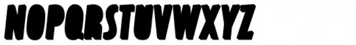 Latex Bottom Font UPPERCASE