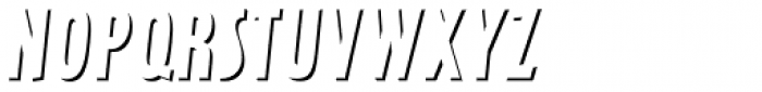 Latex Relief Font UPPERCASE
