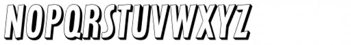 Latex Shadow Font LOWERCASE