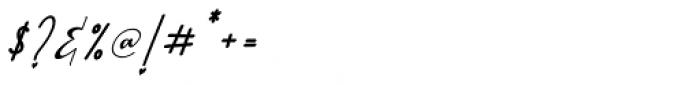 Lathi Italic Font OTHER CHARS
