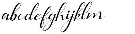 Lathi Italic Font LOWERCASE
