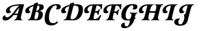 Latienne EF Bold Italic Sw C Font UPPERCASE