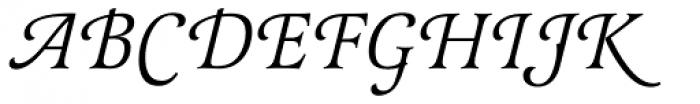 Latienne EF Italic Sw C Font UPPERCASE