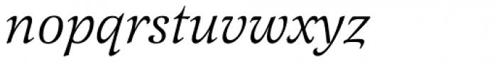 Latienne EF Italic Font LOWERCASE